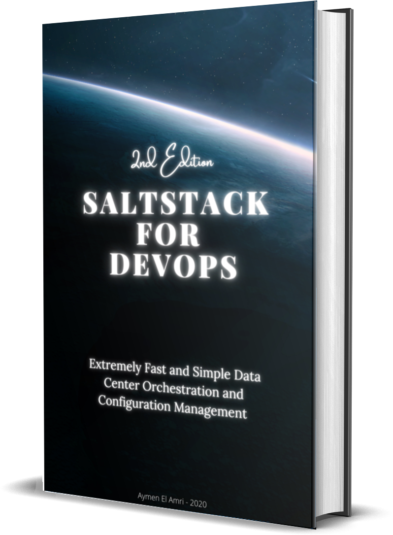 Saltstack for DevOps cover